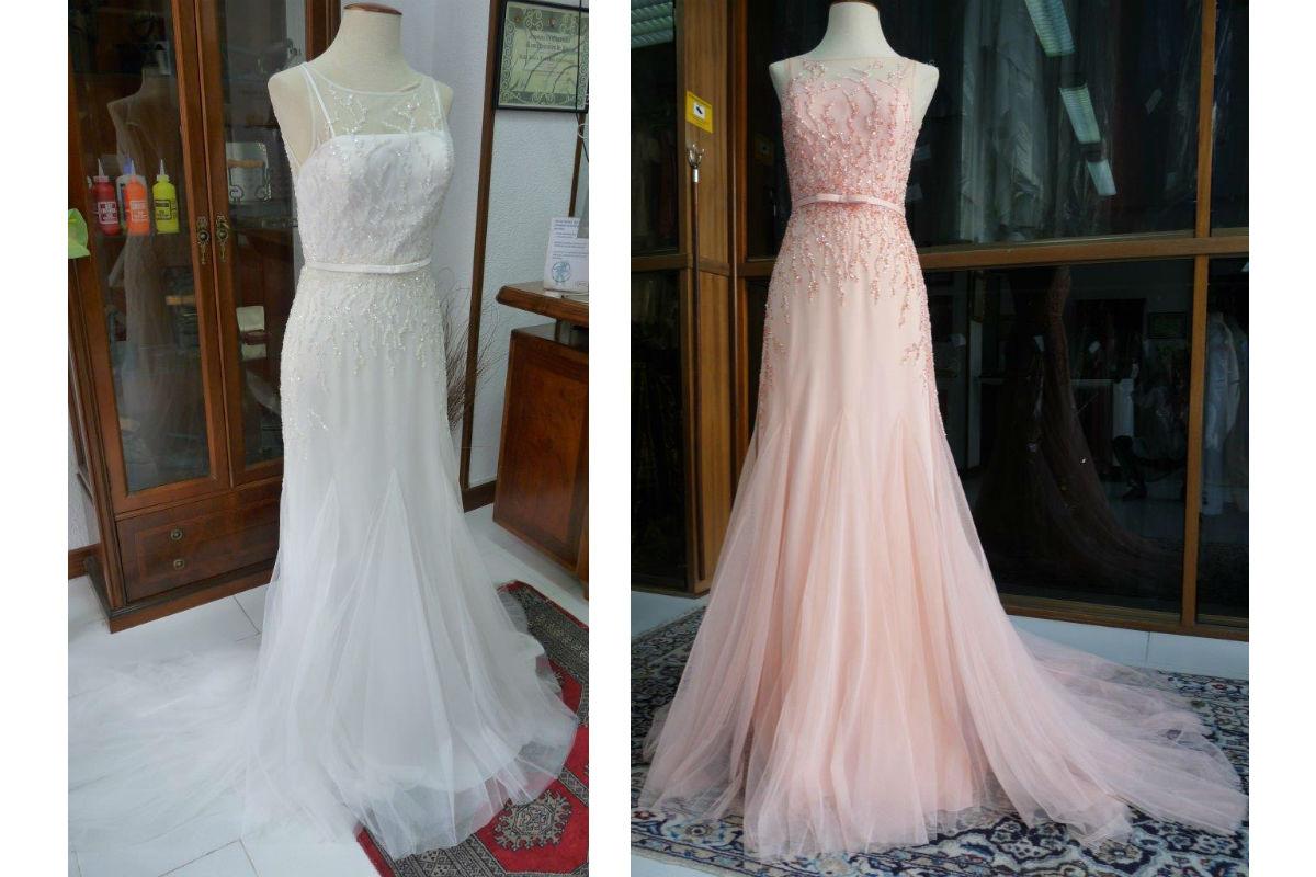 Teñir Vestidos de Novia: Cambia el color de tu Vestido de Novia o Fiesta