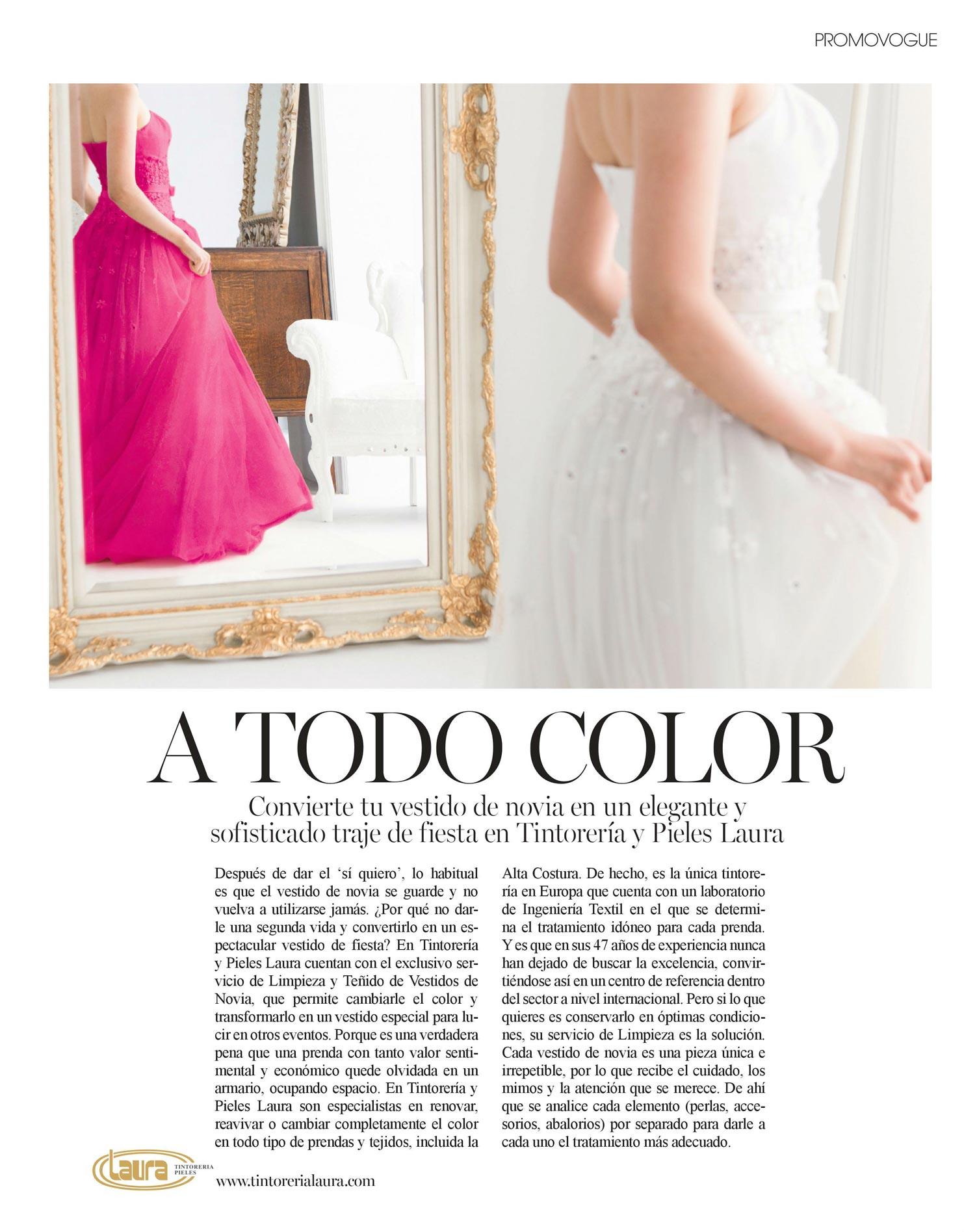 Tintorerias para lavar vestidos de novia